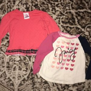 Size 24 month long sleeve shirts